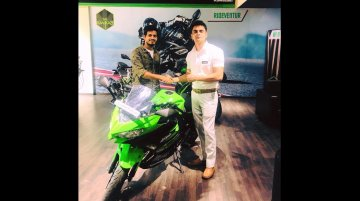 First 2018 Kawasaki Ninja 400 in India delivered in Bengaluru
