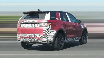 Land Rover Discovery Sport facelift starts testing in China