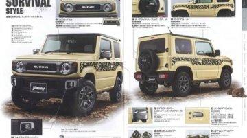 Suzuki Jimny & Jimny Sierra accessories brochures reveal customisation options