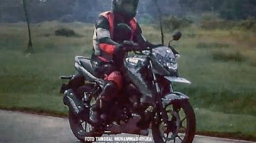 Suzuki Bandit 150 spied testing for the first time in Indonesia
