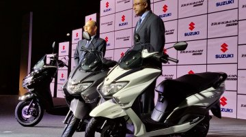 Suzuki Motorcycle India to introduce higher capacity scooters - Report