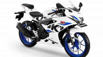 2018 Suzuki GSX-R150 with new white colour variant launched in Indonesia
