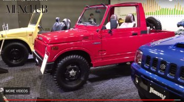 All 4 generations of the Suzuki Jimny (incl Maruti Gypsy) on view at official event