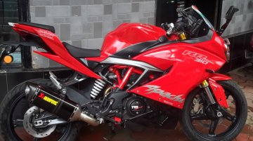 Akrapovic Racing Line full exhaust for TVS Apache RR 310 launched at INR 55,000