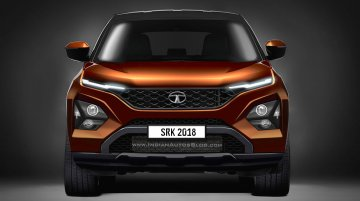 Tata Harrier front-end - IAB Rendering