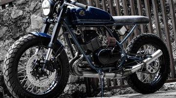 Modified Yamaha RD350 café racer by Moto Exotica