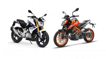 BMW G 310 R vs. KTM 390 Duke - Spec comparo