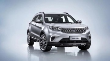 Ford Territory unveiled in China, to compete with the Hyundai Creta
