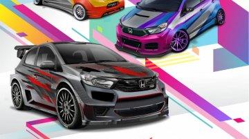 Honda Indonesia asks for virtually modified 2018 Honda Brio from aficionados