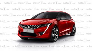 Next-gen Peugeot 208 (Maruti Swift rival) - Rendering