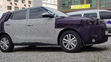 Tivoli facelift spied in home market while Mahindra readies S201 for launch