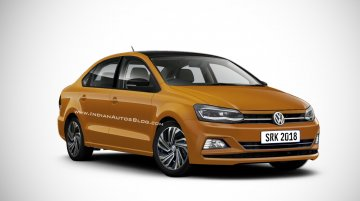 2019 VW Vento (facelift) - IAB Rendering