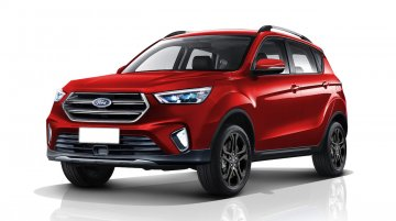 2020 Ford EcoSport apes the Ford Kuga in a new rendering