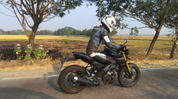 2019 Yamaha Xabre 150 (New Yamaha M-Slaz) spied testing again
