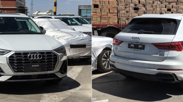 India-bound 2019 Audi Q3 spotted in different colours in China