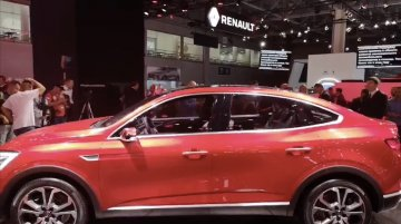 Renault Arkana SUV coupe - Walkaround video