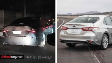 India-bound next-gen Toyota Camry begins testing in Indonesia