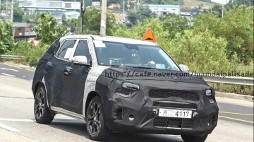 Made-for-India Kia SP (Kia Tusker) spied testing in Korea