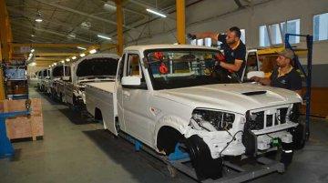 New Mahindra Scorpio Pik-Up hits the assembly line in Tunisia