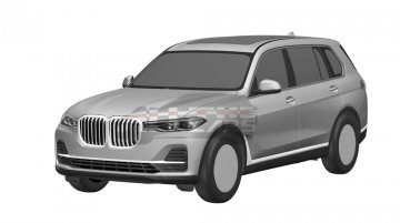 India-bound BMW X7 (production model) leaked in patent images