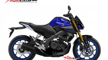 2019 Yamaha Xabre 150 (2019 Yamaha M-Slaz) rendered by Motoblast