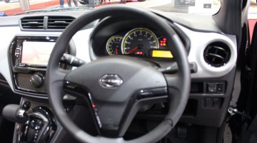 India-bound Datsun GO facelift with new dashboard & touchscreen showcased at GIIAS 2018