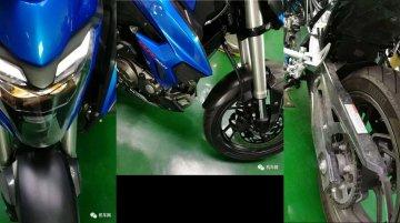 Production Haojue HJ300 (Suzuki GSX-S300) images leaked - Report