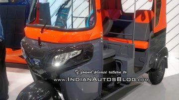 Bajaj RE electric auto rickshaw showcased at MOVE 2018