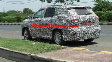 MG-badged Baojun 530 continues testing in India