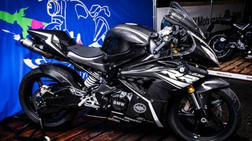 Full-faired BMW G310 RR Concept showcased in Japan; looks menacing