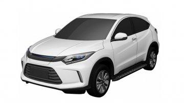 Honda HR-V-based EV leaked online in patent images
