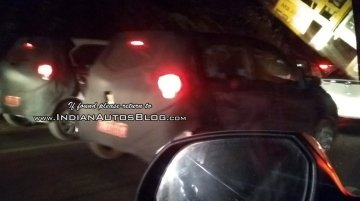 Hyundai AH2 (2018 Hyundai Santro) spied in 'Star Dust' paint shade [Update]