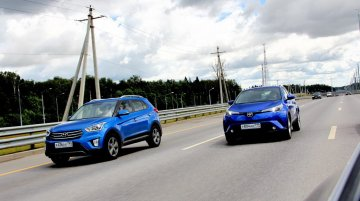 Russian media's road test comparison of the Toyota C-HR & Hyundai Creta [Video]