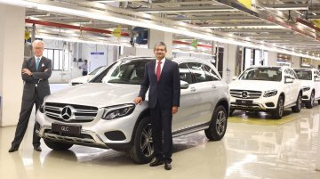 In a first for Mercedes-Benz India, Chakan-made GLC ships to the USA