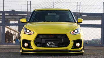 Modified Suzuki Swift Sport by Kuhl Racing looks HOT