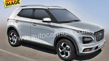 Hyundai QXi (Hyundai Styx) sub-4 metre SUV imagined - Rendering