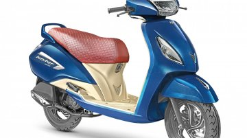 TVS Jupiter Grande launched in India, priced from INR 55,936