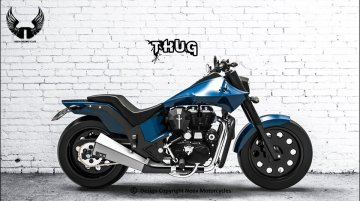 Royal Enfield THUG by Neev Motorcycles will steal your heart away