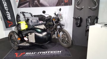 Royal Enfield Himalayan with Sidecar showcased at the Paris Motor Show