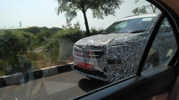 MG Motor's first SUV based on the Baojun 530 spied testing in India yet again