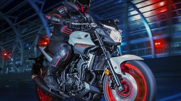 MY2019 Yamaha MT-03 revealed; gets new Ice Fluo colour option
