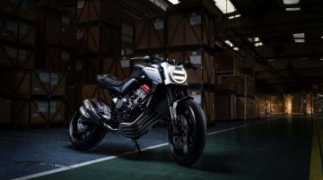 Honda Neo Sports Café 650 Retro-Modern Concept revealed at Paris Motor Show