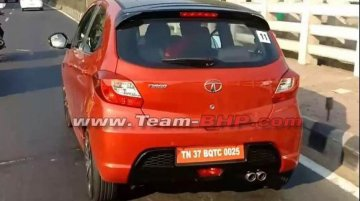 Tata Tiago JTP spied sans camouflage ahead of launch