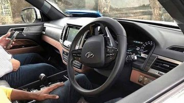 Interior of Mahindra Y400 spied ahead of launch this month