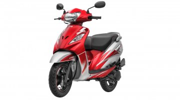 New TVS Wego launched in India, priced at 53,027