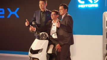 22 KYMCO launches three scooters in the Indian market