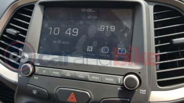 2019 Hyundai Santro's interior showing company's first AMT leaked