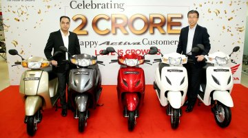 Honda Motorcycle and Scooter India registers 4,18,362 unit sales in November sales