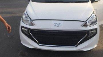 2019 Hyundai Santro in the range-topping Asta grade exposed