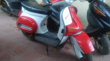 IAB reader gives his Vespa LML Pulse a mild makeover
